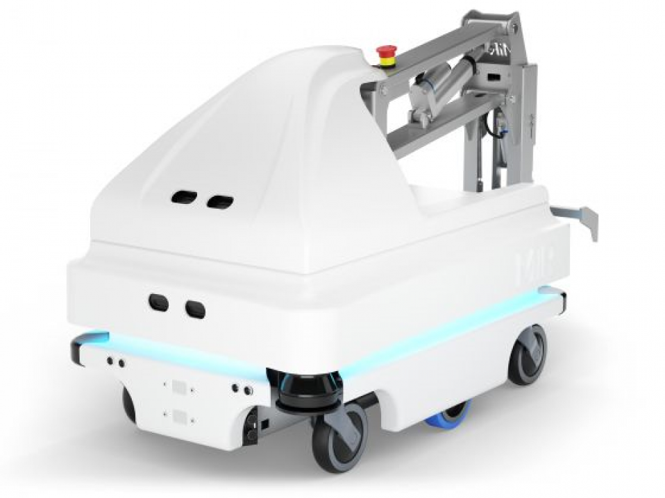 MiRHook the Extended Payload Mobile Robot