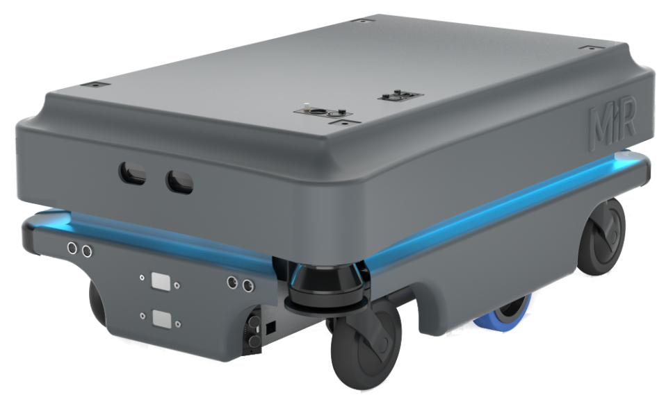 A STRONGER mobile robot automates your internal logistics!